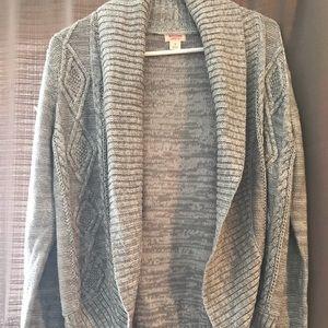 Grey cardigan size small